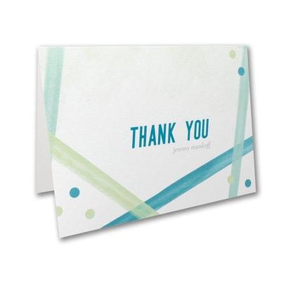 Magen David - Bar Mitzvah - Note Folder and Envelope