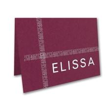 Dashed Border Note Folder and Envelope