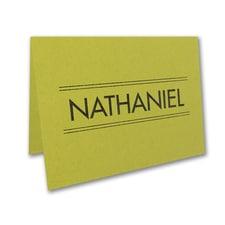 Modish Mitzvah Note Folder and Envelope
