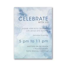 Marbled Mitzvah - Bar Mitzvah - Reception Card