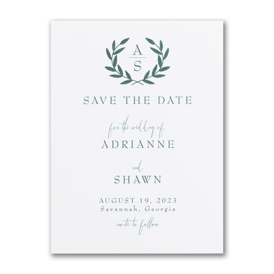 Ornate Date - Save the Date