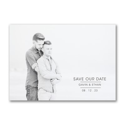 Celebrated Date - Save the Date
