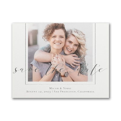Encircled Love - Save the Date Postcard
