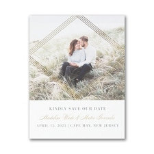 Encompassed Romance - Save the Date Postcard