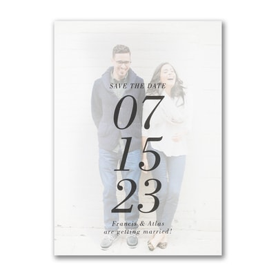 The Big Date - Save the Date