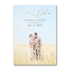 Perfect Portrait - Save the Date