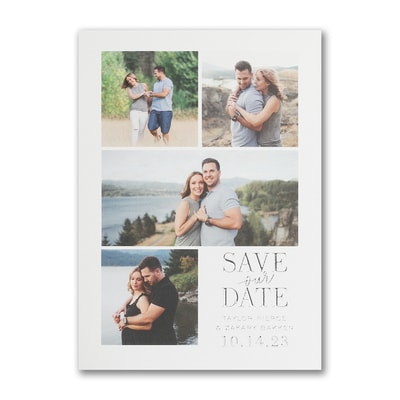 Endearing Collage - Save the Date