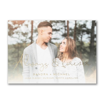 Forever Yours - Save the Date