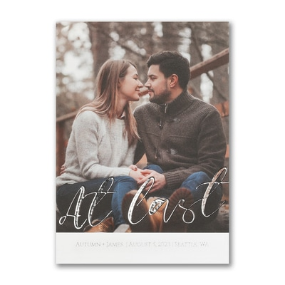 Love At Last - Save the Date