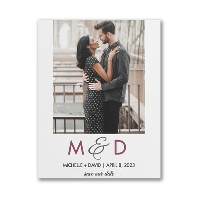 Endless Romance - Save the Date Postcard