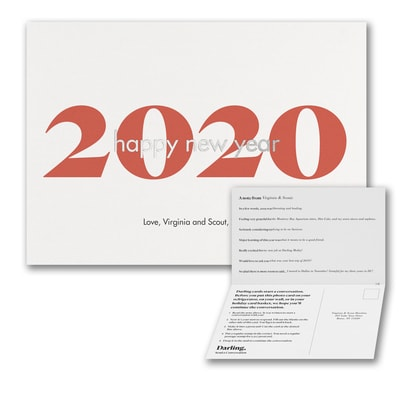 2020 Happy New Year Landscape Card