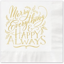 Merry Everything Napkin