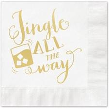 Jingle All The Way Napkin