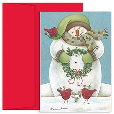 Wintery Friends Boxed Holiday Card