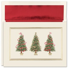 Holiday Trees Boxed Holiday Card