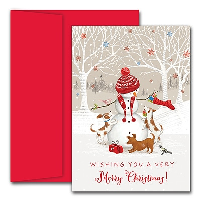 Snowman & Friends Holiday Collection Boxed Holiday Card