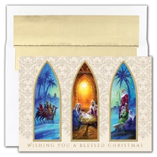 Christmas Triptych Boxed Holiday Card