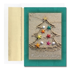 Sand Tree Warmest Wishes Boxed Holiday Card