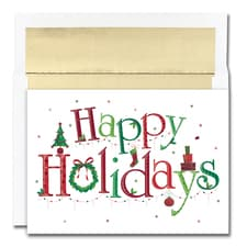Happy Holidays Holiday Collection Boxed Holiday Card
