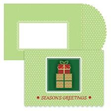 Plenty Of Presents Season's Sentiments Boxed Holiday Card