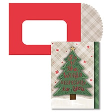 Joy To You Season's Sentiments Boxed Holiday Card