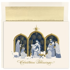 Manger Blessings Holiday Collection Boxed Holiday Card
