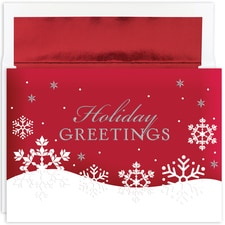 Holiday Flakes Holiday Collection Boxed Holiday Card