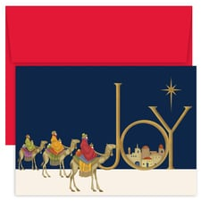 Joy Wisemen Holiday Collection Boxed Holiday Card