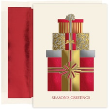 Pretty Packages Holiday Collection Boxed Holiday Card