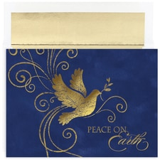 Midnight Dove Holiday Collection Boxed Holiday Card