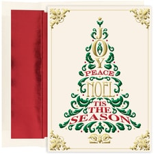 Greeting Tree Holiday Collection Boxed Holiday Card