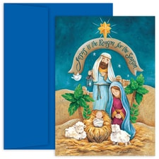 Jesus Is The Reason Hollyville Boxed Holiday Card