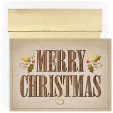 Western Greetings Warmest Wishes Boxed Holiday Card