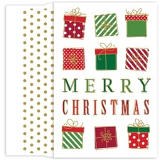 Christmas Packages Holiday Collection Petites Boxed Holiday Card