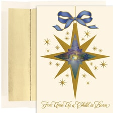 Nativity Star Holiday Collection Boxed Holiday Cards