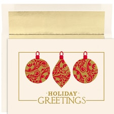 Beautiful Ornaments Holiday Collection Boxed Holiday Cards