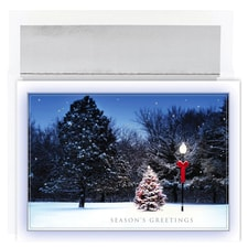Tree & Lamplight Holiday Collection Boxed Holiday Cards
