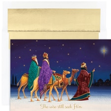Three Kings Holiday Collection Boxed Holiday Cards