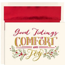 Comfort & Joy Holiday Collection Boxed Holiday Cards
