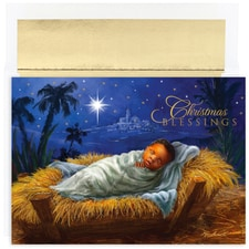 Baby Jesus Holiday Collection Boxed Holiday Cards