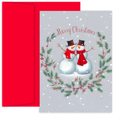 Snow Buddies Hollyville Boxed Holiday Cards