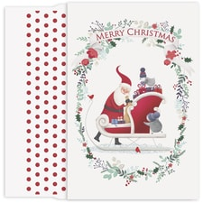 Cute Santa Holiday Collection Petites Boxed Holiday Cards