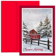 Winter Barn Holiday Collection Boxed Holiday Cards