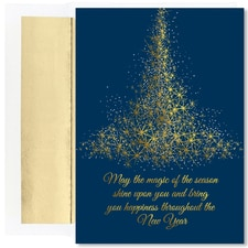 Sparkling Tree Holiday Collection Boxed Holiday Cards
