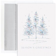 Winter Treeline Holiday Collection Boxed Holiday Cards