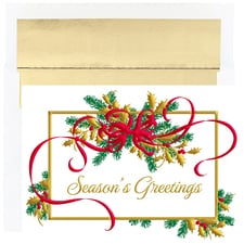 Holiday Swag Holiday Collection Boxed Holiday Cards
