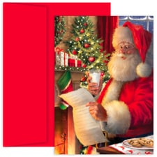 Santa's List Holiday Collection Boxed Holiday Cards