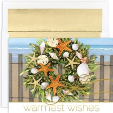 Warm Wishes Wreath Warmest Wishes Boxed Holiday Cards