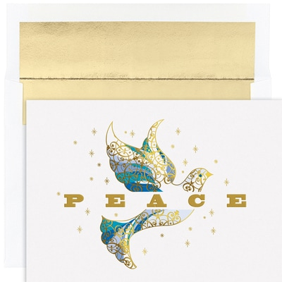 Elegant Dove Holiday Collection Boxed Holiday Cards