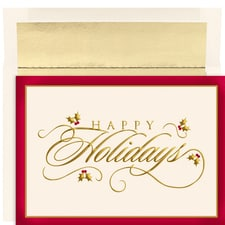 Classic Greetings Holiday Collection Boxed Holiday Cards